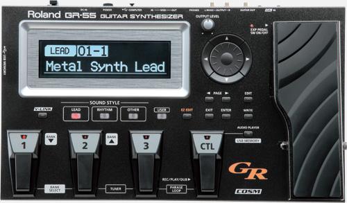 【クーポン配布中!】ROLAND(ローランド) GR-55S-BK【ギターシンセサイザー】
