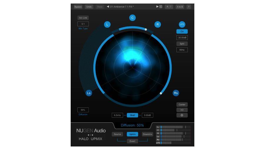 【クーポン配布中!】NuGen Audio(ニュージェン オーディオ) Halo Upmix【エフェクトプラグイン】