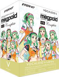 INTERNET(インターネット) VOCALOID4 Library Megpoid V4 Complete【DTM】