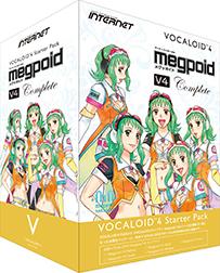 INTERNET(インターネット) VOCALOID4 Starter Pack Megpoid V4 Complete【DTM】