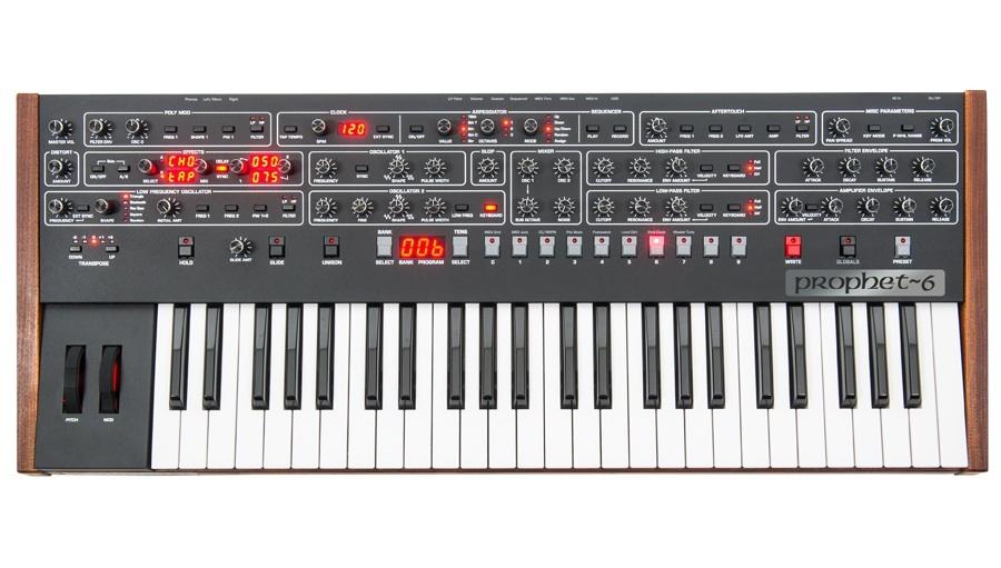 【クーポン配布中!】SEQUENTIAL(シーケンシャル) Dave Smith Instruments Prophet-6【価格改定!】【シンセサイザー】