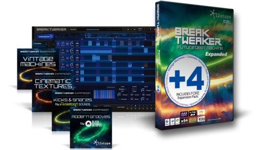 【クーポン配布中!】iZotope(アイゾトープ) Break Tweaker Expanded+4【DTM】【プラグインエフェクト】