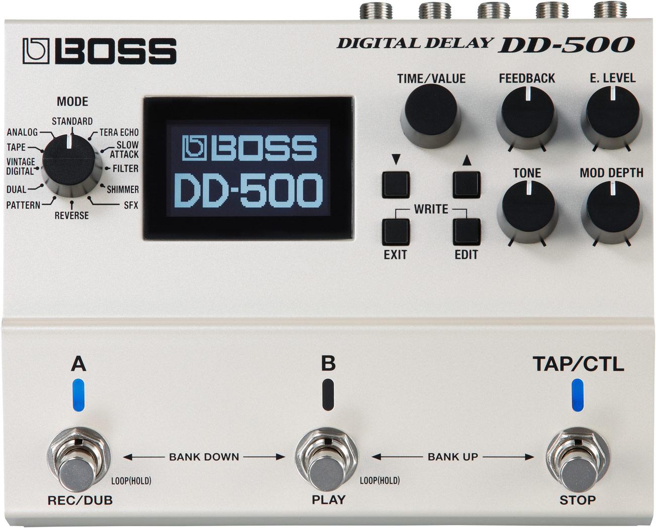 【クーポン配布中!】BOSS(ボス) DD-500(DIGITAL DELAY)【ギターエフェクター】