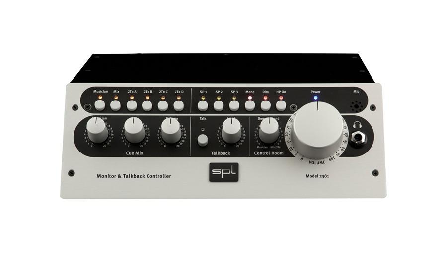 SPL(エスピーエル) MTC Monitor & Talkback (model 2381)【モニターコントローラー】【ヘッドホンアンプ】