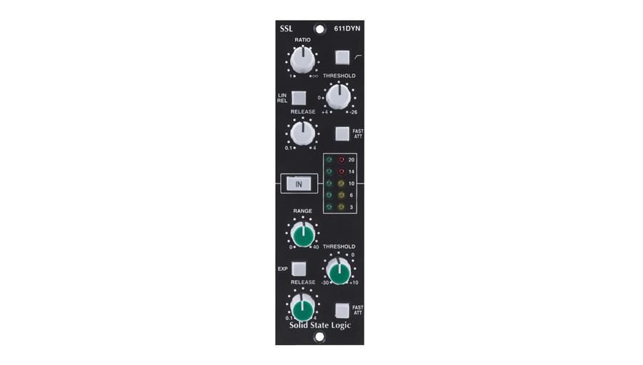 【クーポン配布中!】SSL(エスエスエル) E-Series Dynamics Module for 500 Series racks【レコーディング】