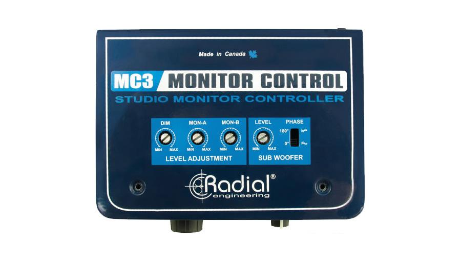 【クーポン配布中!】RADIAL(ラディアル) MC3【モニターコントローラー】【レコーディング】