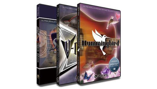 【クーポン配布中!】Prominy(プロミニー) Hummingbird&V-METAL&SR5 スペシャル・バンドル【Prominy ウィンターキャンペーン!】【DTM】【ソフトシンセ】【ギター音源】【ベース音源】
