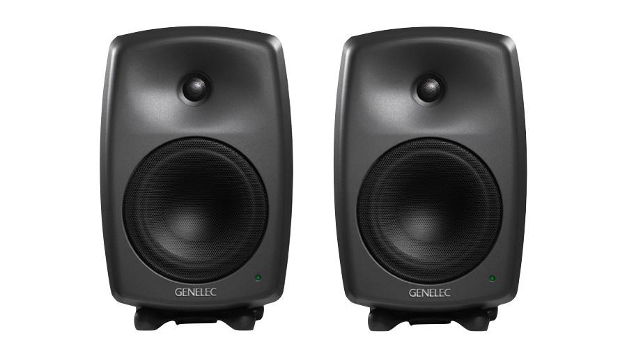 GENELEC(ジェネレック) 8040BPM(マットブラック/Pair)【DTM】【モニタースピーカー】