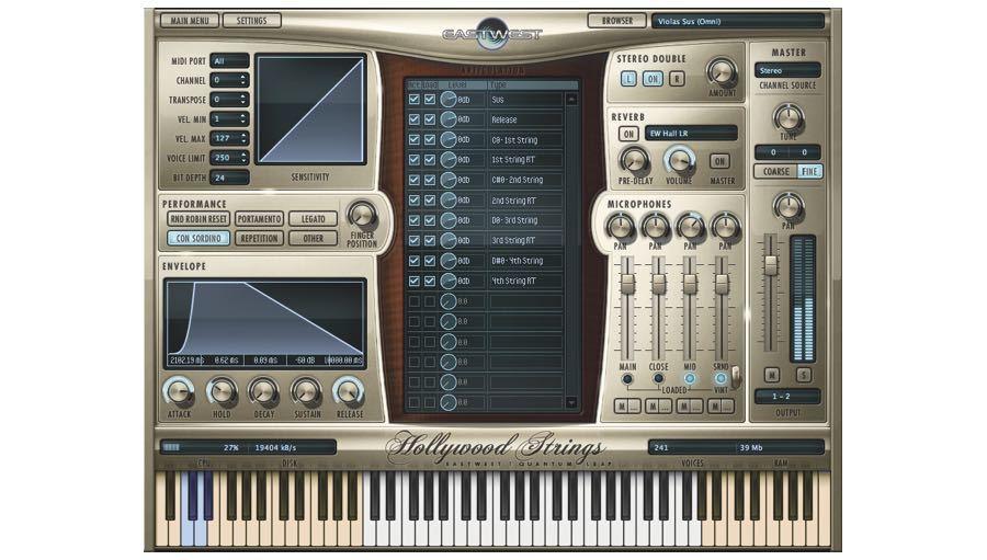 East West(イーストウェスト) Hollywood Orchestra Diamond Edition(Mac版)【DTM】【ソフトシンセ】【オーケストラ音源】
