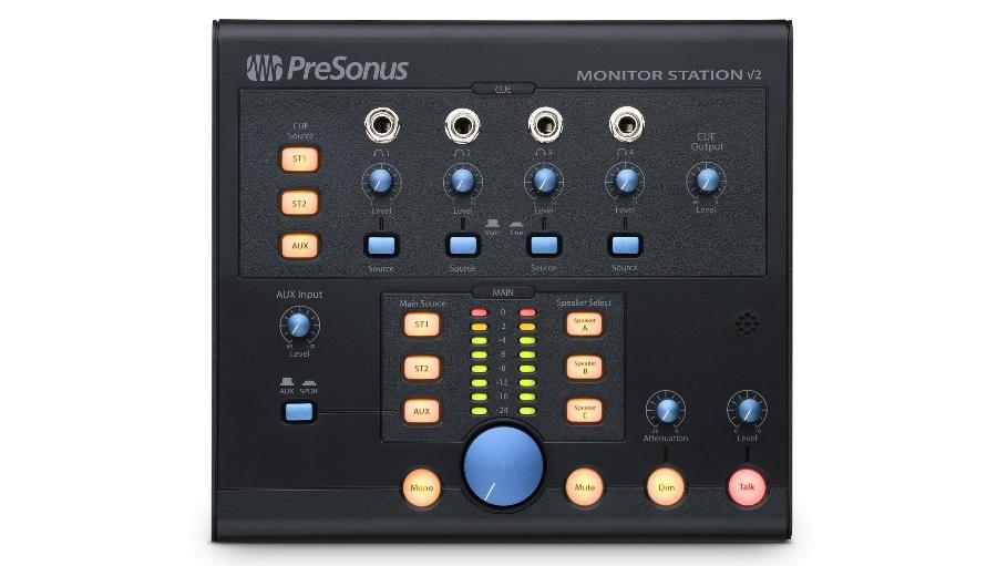 【クーポン配布中!】PreSonus(プリソーナス) Monitor Station V2【DTM】【モニターコントローラー】