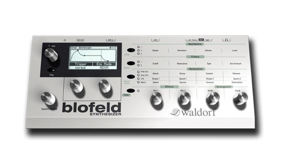 【クーポン配布中!】Waldorf Music(ウォルドルフミュージック) Blofeld Desktop【DTM】【シンセサイザー】