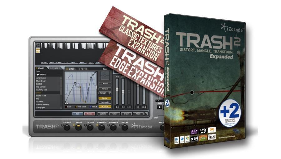 【クーポン配布中!】iZotope(アイゾトープ) Trash2 Expanded+2【※シリアル記載PDF納品、代引不可】【DTM】【プラグインエフェクト】
