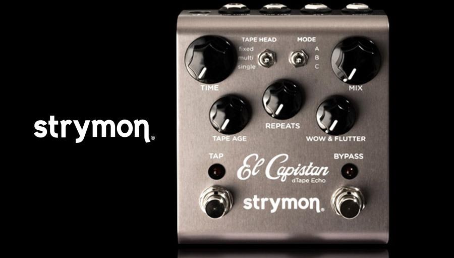 【クーポン配布中!】Strymon(ストライモン) El Capistan【ギターエフェクター】