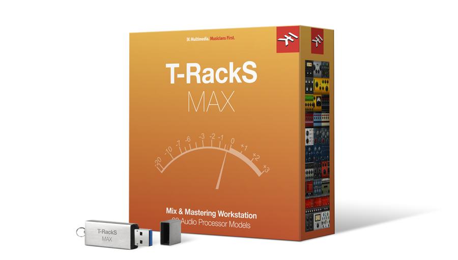 【クーポン配布中!】IK Multimedia(アイケーマルチメディア) T-RackS MAX【DTM】【ソフトシンセ】【マスタリング】