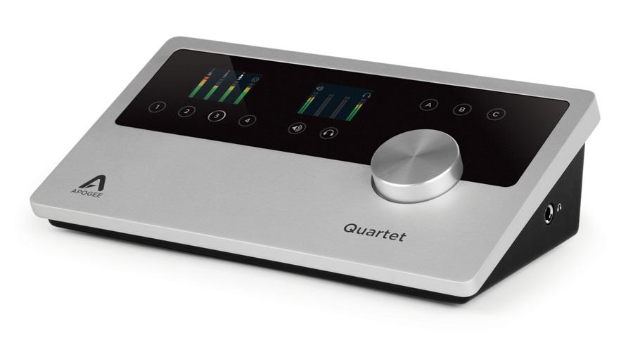 【クーポン配布中!】APOGEE(アポジー) Quartet for iPad & Mac Lightning Only【DTM】【オーディオインターフェイス】