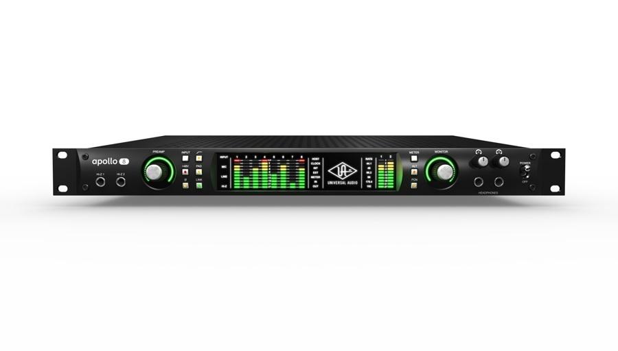 【クーポン配布中!】Universal Audio(ユニバーサルオーディオ) APOLLO 8 QUAD【DTM】【オーディオインターフェイス】【エフェクトプラグイン】