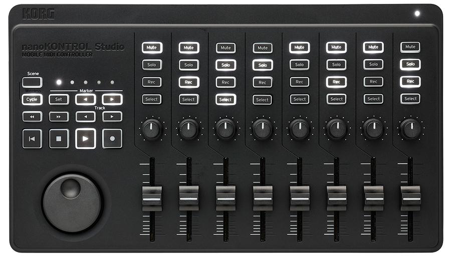 【クーポン配布中!】KORG(コルグ) nanoKONTROL Studio【MIDIコントローラー】