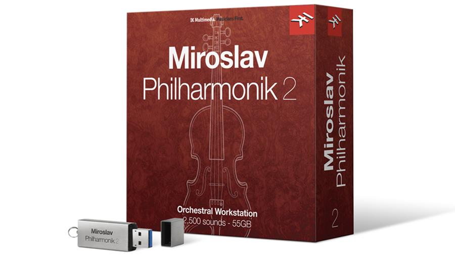 IK Multimedia(アイケーマルチメディア) MIROSLAV PHILHARMONIK 2【DTM】【ソフトシンセ】【ストリングス音源】
