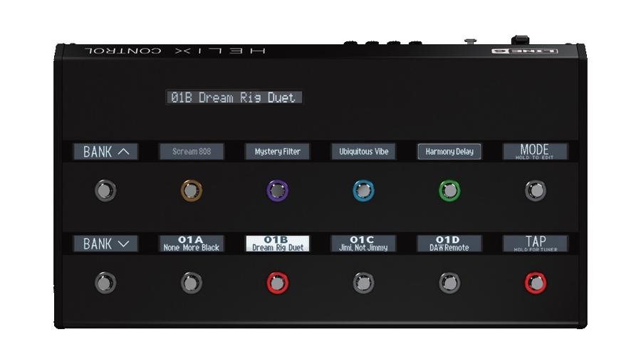 【クーポン配布中!】Line 6(ラインシックス) Helix Control【ギターアンプ(Amp)・シミュレーター】【ギターエフェクター】