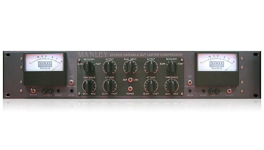 【クーポン配布中!】MANLEY(マンレイ) Stereo Variable Mu Limiter Compressor【レコーディング】