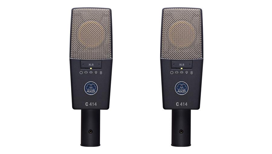 AKG(アーカーゲー) C414 XLS ST【コンデンサーマイク】【レコーディング】