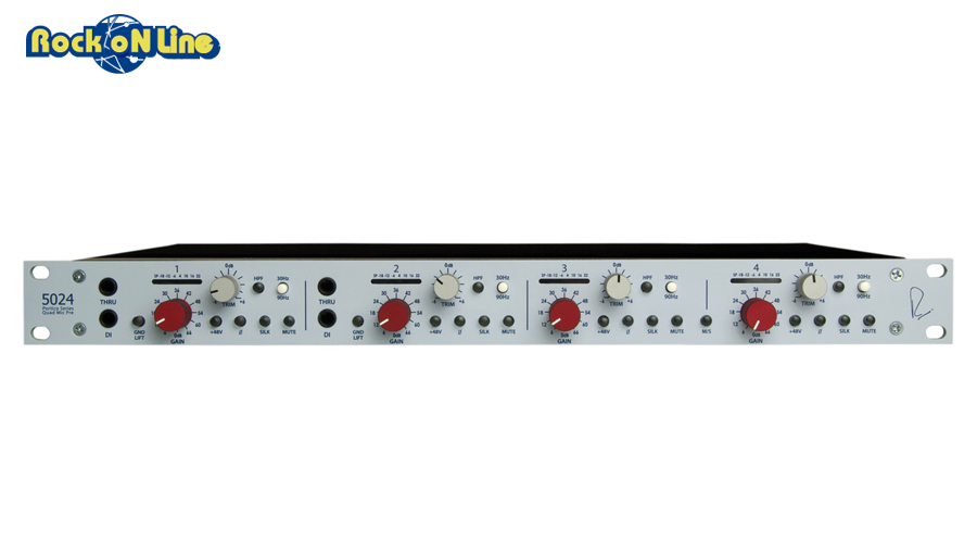 【クーポン配布中!】RUPERT NEVE DESIGNS(ルパートニーブデザイン) Portico 5024 Quad Mic Pre【レコーディング】