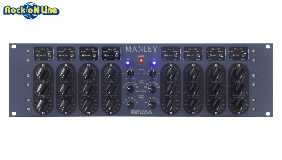 MANLEY(マンレイ) Massive Passive Stereo EQ Mastering Version【レコーディング】