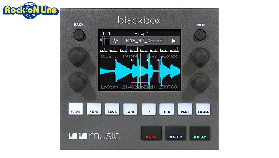 1010MUSIC Blackbox - Compact Sampling Studio【サンプラー】