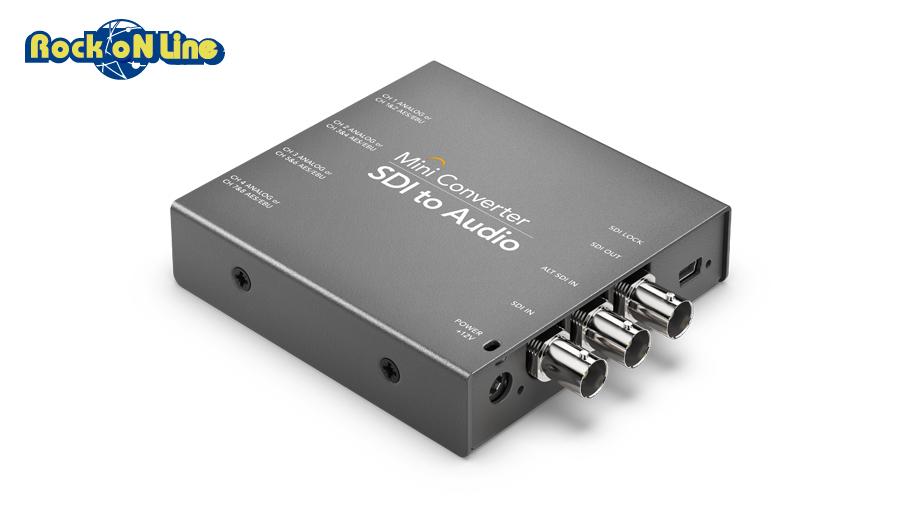 【クーポン配布中!】Blackmagic Design(ブラックマジックデザイン) Mini Converter - SDI to Audio【ビデオ入出力・コンバーター】