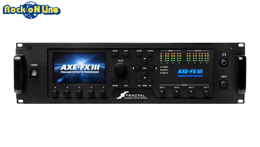 Fractal Audio Systems(フラクタルオーディオシステムズ) Axe-Fx III【ギターアンプ(Amp)・シミュレーター】【ギターエフェクター】