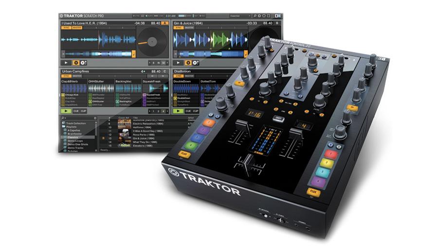 Native Instruments(ネイティブインストゥルメンツ) TRAKTOR KONTROL Z2【PCDJ】【DJコントローラー】