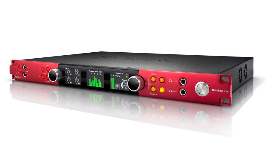 【クーポン配布中!】Focusrite(フォーカスライト) RED 16 RED Line【DTM】【オーディオインターフェイス 16】, ノギマチ:ba5fb795 --- officewill.xsrv.jp