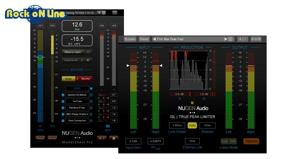 NuGen Audio(ニュージェン オーディオ) MasterCheck Pro + ISL 2st combo deal【エフェクトプラグイン】