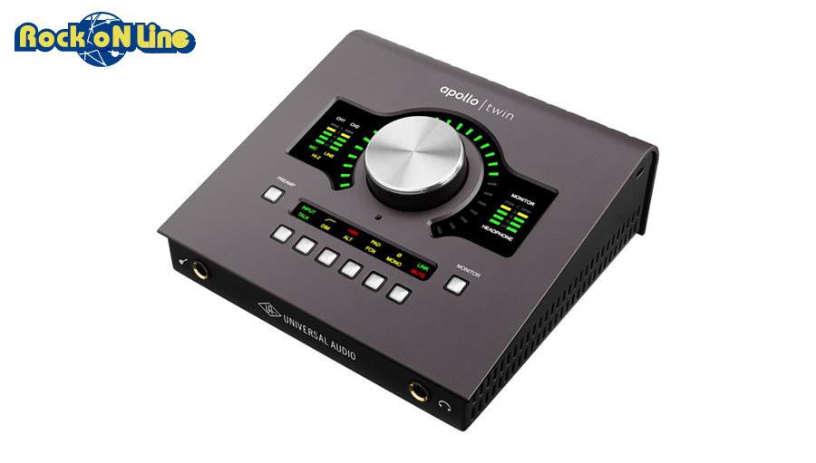 【クーポン配布中!】Universal Audio(ユニバーサルオーディオ) APOLLO TWIN MKII / QUAD【プロモーション!】【Thundeboltケーブルもプレゼント!】【DTM】【オーディオインターフェイス】【エフェクトプラグイン】【ギター】