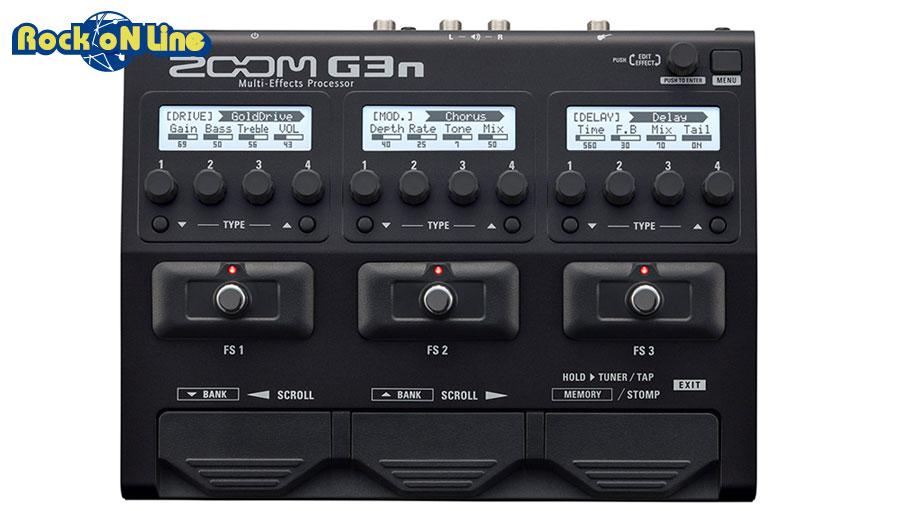【クーポン配布中!】ZOOM(ズーム) G3n【ギターアンプ(Amp)・シミュレーター】【ギターエフェクター】