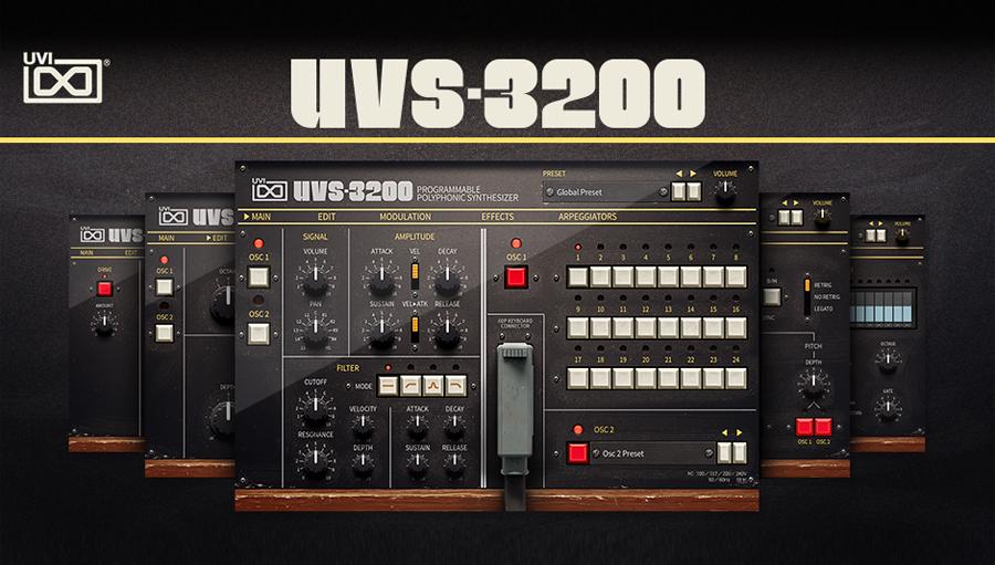 【クーポン配布中!】UVI(ユーブイアイ) UVS-3200【※シリアルPDFメール納品】【DTM】【シンセサイザー】