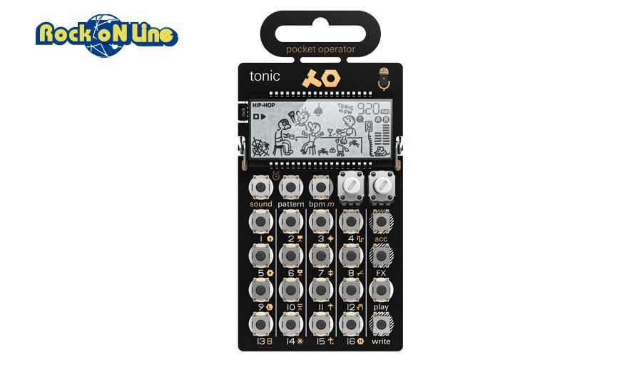【クーポン配布中!】Teenage Engineering(ティーンエイジ エンジニアリング) PO-32 tonic【シンセサイザー】