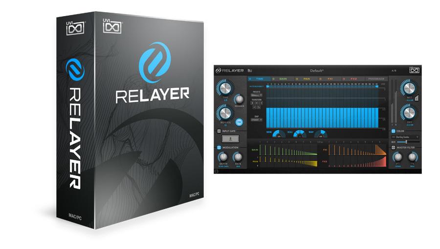 【クーポン配布中!】UVI(ユーブイアイ) Relayer【※シリアルPDFメール納品】【DTM】【エフェクトプラグイン】