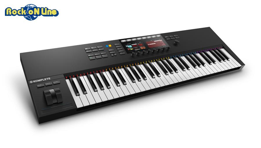 【クーポン配布中!】Native Instruments(ネイティブインストゥルメンツ) KOMPLETE KONTROL S61 MK2【DTM】【MIDIキーボード】