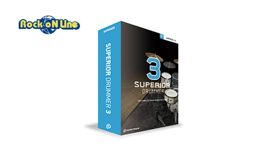 【クーポン配布中!】TOONTRACK(トゥーントラック) SUPERIOR DRUMMER 3 / BOX【DTM】【ドラム音源】