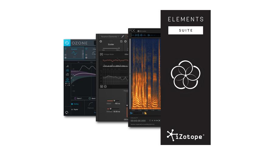 【クーポン配布中!】iZotope(アイゾトープ) Elements Suite【DTM】【プラグインエフェクト】