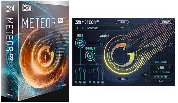 UVI(ユーブイアイ) Meteor【※シリアルPDFメール納品】【DTM】【シンセサイザー】