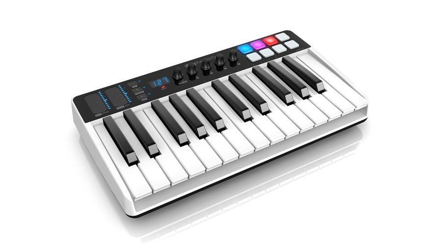 【クーポン配布中!】IK Multimedia(アイケーマルチメディア) iRig Keys I/O 25【DTM】【MIDIキーボード】【オーディオインターフェイス】