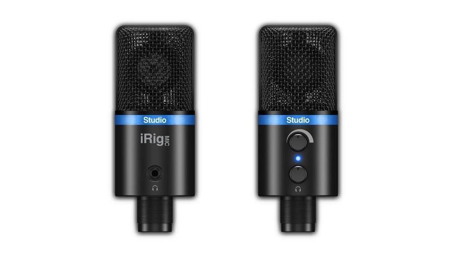 【クーポン配布中!】IK Multimedia(アイケーマルチメディア) iRig Mic Studio - Black【DTM】【マイク】【iPad/iOS対応】