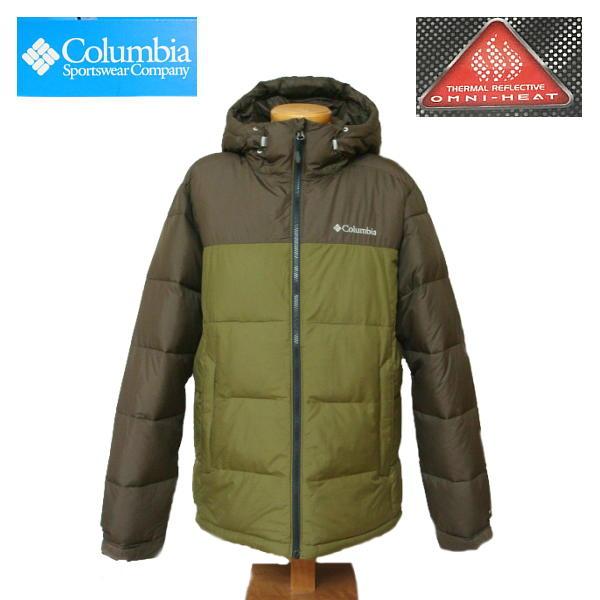 【SALE・セール】 Columbia コロンビア オムニヒート 中綿 ジャケット メンズ PIKE LAKE HOODED we0020 -Olive