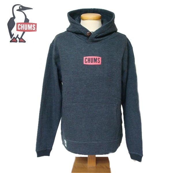 【SALE・セール】 チャムス CHUMS スウェット プルオーバー パーカー メンズ CHUMS Mini Logo CH00-1221 -H.ブラック
