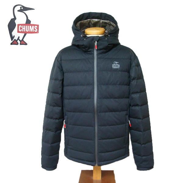 【SALE・セール】 チャムス CHUMS ダウンジャケット Teeshell Down Jacket メンズ アウター CH04-1185 -ブラック