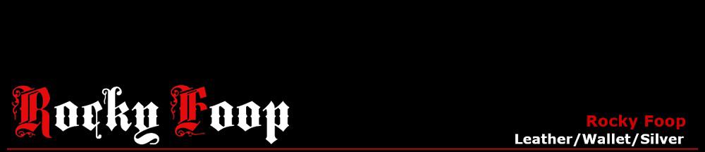 229b46a1f1f2 革財布 バッグ 革小物 /RockyFoop:レザーウォレット・シルバーアクセサリー等の専門