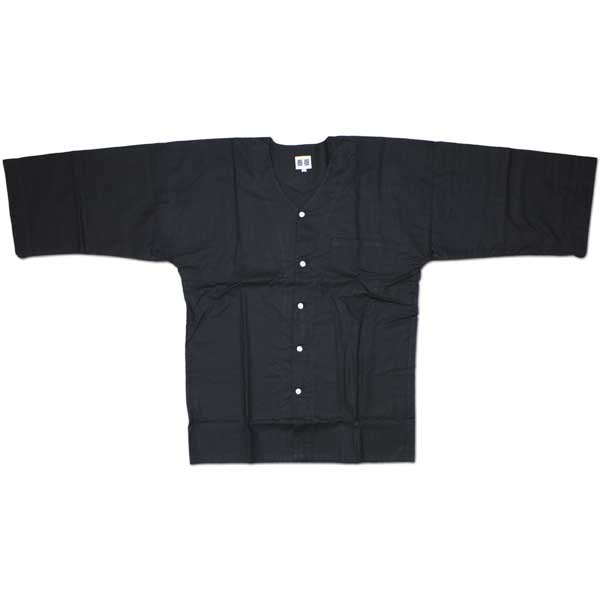 お祭用品 祭古 ダボシャツ [黒] M L(大人用) お祭り衣装 お祭り用品 ホワイト 単色 肉襦袢