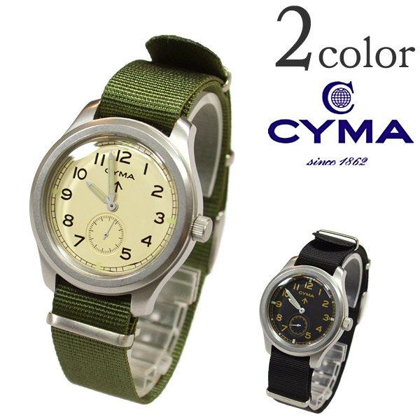 作为皇家CYMA(シーマ)ROYAL ARMY WATCH/陆军表(雪花膏(皮带,:)黄褐色))